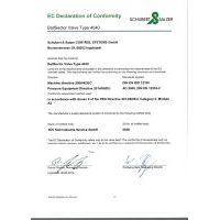 Schubert&Salzer 4040 – EC Declaration of Conformity