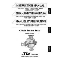 TLV SS5-P Series Instruction Manual