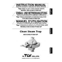 TLV SS3-P Series Instruction Manual