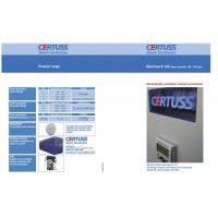 CERTUSS Elektro E100-120M Datasheet