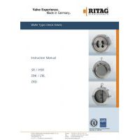 RITAG Check Valves Instruction Manual