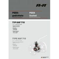 A+R Armaturen KHF 710 PEEK Seated ANSI Datasheet