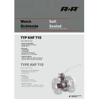A+R Armaturen KHF 710 Soft Seated ANSI Datasheet