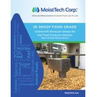 MoistTech IR-3000F Food Grade Brochure