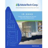 MoistTech IR-3000 Brochure