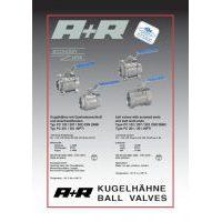 A+R Armaturen PC 102-302 Datasheet