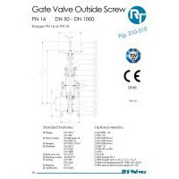 RT Valves 210-510 Series Datasheet