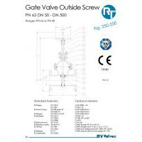 RT Valves 250-550 Series Datasheet
