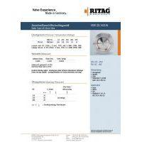 RITAG HSR 20.160-St DN 125-200 PN 63-160 Carbon Steel