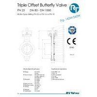 RT Valves 142W-542W Series Datasheet