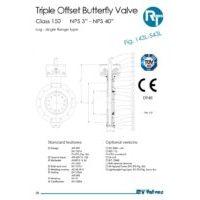 RT Valves 143L-543L Series Datasheet