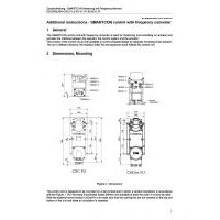 SCHIEBEL Additional instructions – SMARTCON control with frequency converter