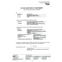 TLV EU Declaration of Conformity