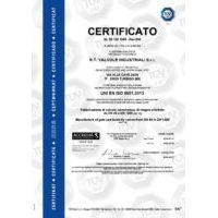 RT Valves ISO9001
