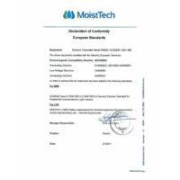 MoistTech Declaration of Conformity